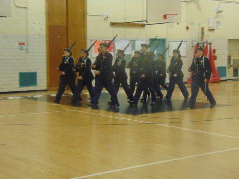 The RHS JROTC Armed Regulation Team