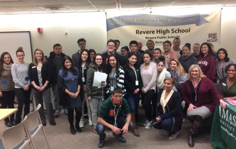 Massachusetts College Application Celebration an RHS Success