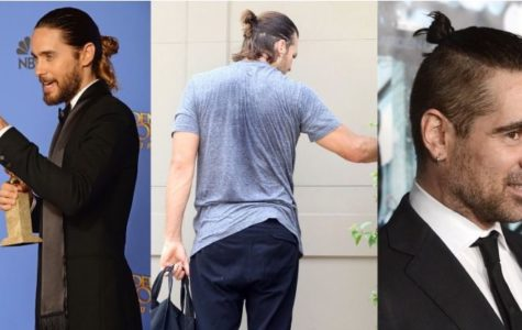 "Photo 1: Whole head man bun (Jared Leto). Photo 2: Half Bun (Tom Brady). Photo 3: ""Side shaven man bun safe haven."" Photo Credit: Buzzfeed Compiled by: Samantha Karl"