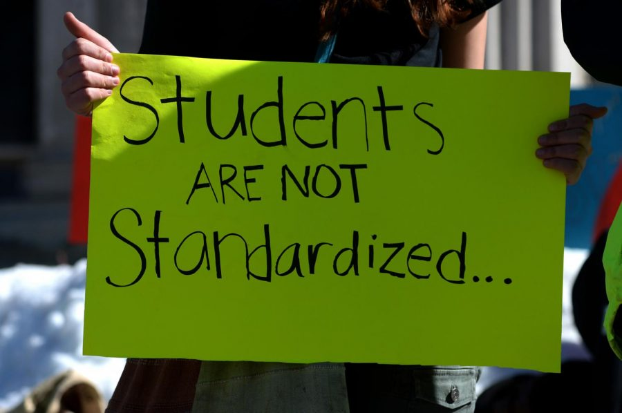 Standardized Testing Protest
